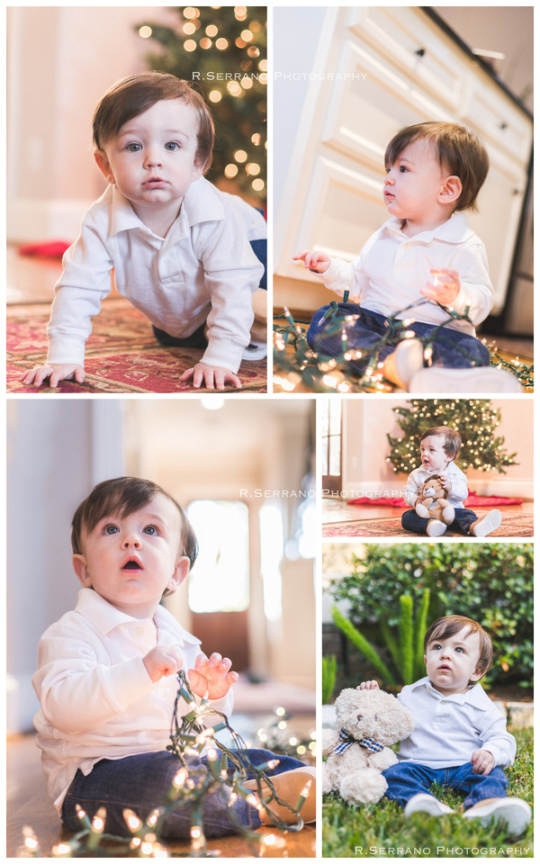 Baby Shoot 1st Christmas